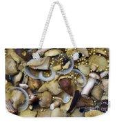 Pickled Mushrooms Weekender Tote Bag by Michal Boubin