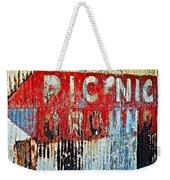 Picnic Ground Weekender Tote Bag
