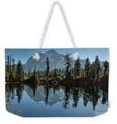 Picture Lake - Heather Meadows Landscape In Autumn Art Prints Weekender Tote Bag