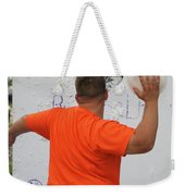 Pie Tossing 01 Weekender Tote Bag