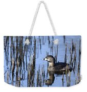 Pied-billed Grebe, Montreal Botanical Weekender Tote Bag