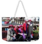 Pier 39 Friends Weekender Tote Bag