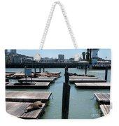 Pier 39 San Francisco Weekender Tote Bag