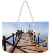 Pier On Costa Del Sol In Marbella Weekender Tote Bag