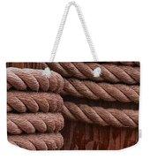 Pier Ropes II Weekender Tote Bag