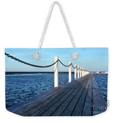 Pier To The Ocean Weekender Tote Bag