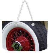 Pierce Arrow Wheel Weekender Tote Bag