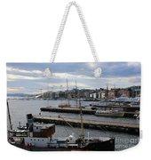 Piers Of Oslo Harbor Weekender Tote Bag