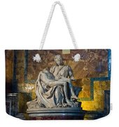Pieta By Michelangelo Circa 1499 Ad Weekender Tote Bag