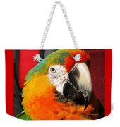 Pietro The Parrot Weekender Tote Bag