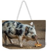 Pig With An Attitude Weekender Tote Bag