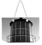Pigeon Point Lighthouse Beacon - Black And White Weekender Tote Bag