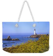 Pigeon Point Lighthouse California Coast Weekender Tote Bag