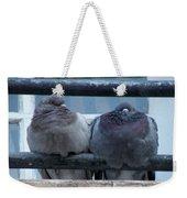 Pigeons Perching Weekender Tote Bag