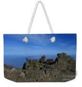Pihanakalani Haleakala - House Of The Sun - Summit Sunrise Maui Weekender Tote Bag by Sharon Mau