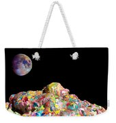 Pile Of Color In Space Two K O Four Weekender Tote Bag