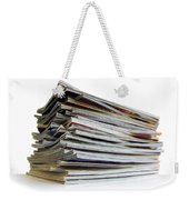 Pile Of Magazines Weekender Tote Bag