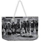 Pilgrim Prostration Weekender Tote Bag