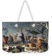 Pilgrims: First Winter, 1620 Weekender Tote Bag