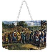 Pilgrims: Massasoit Weekender Tote Bag