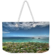 Pillbox View Of Mokulas Weekender Tote Bag