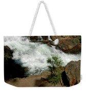 Pine And Falls Glen Alpine Falls Weekender Tote Bag