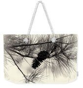 Pine Cones In The Treetops Weekender Tote Bag