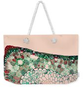 Pine Needle Light Micrograph Weekender Tote Bag