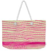 Pine Pits And Stem Weekender Tote Bag