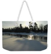Pine Trees Casting Shadows Weekender Tote Bag