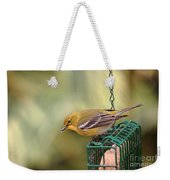 Pine Warbler 3 Weekender Tote Bag