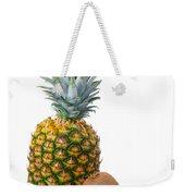 Pineapple And Kiwis Weekender Tote Bag