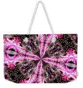 Pink And Purple Gemstones Jewelry Kaleidoscope Weekender Tote Bag