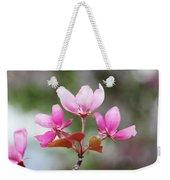 Pink Apple Blossom 2 Weekender Tote Bag