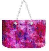 Pink Blueberries Weekender Tote Bag