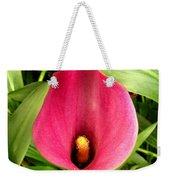 Pink Calla Lily Weekender Tote Bag