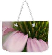 Pink Cone Flower Weekender Tote Bag
