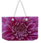 Pink Flower Weekender Tote Bag