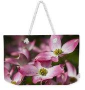 Pink Flowering Dogwood - Cornus Florida Rubra Weekender Tote Bag