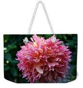 Pink Frills Weekender Tote Bag