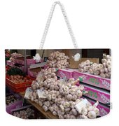 Pink Garlic Weekender Tote Bag