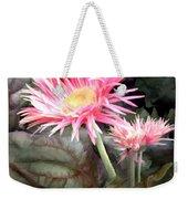 Pink Gerber Daisies Weekender Tote Bag