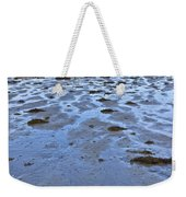 Pink Granite Island In Low Tide Weekender Tote Bag