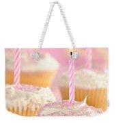 Pink Party Cupcakes Weekender Tote Bag