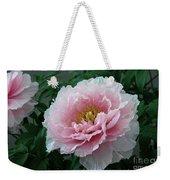 Pink Peony Flowers Series 2 Weekender Tote Bag
