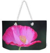 Pink Poppy 3 Weekender Tote Bag