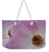 Pink Prickly Poppy Weekender Tote Bag