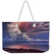 Pink Sky Weekender Tote Bag