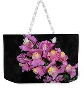 Pink Snapdragons 2 Weekender Tote Bag