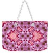 Pink Splash Mandala Abstract Weekender Tote Bag